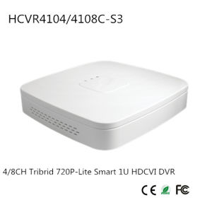 4/8CH Tribrid 720p-Lite Smart 1u Hdcvi DVR {Hcvr4104/4108c-S3}