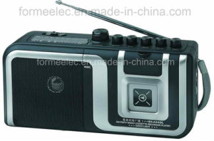 Portable Cassette Recorder Cassette Player with Am FM Radio pictures & photos