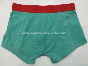 Solid Color New Style Men′s Boxer Short Underwear pictures & photos