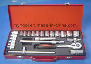 Newest Hand Tool-25PCS 1/2dr. Socket Set (FY1025A) pictures & photos