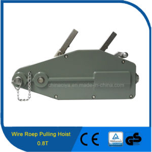 0.8t Lifting Application Manual Portable Wire Rope Winch