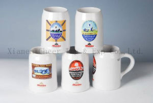 400ml Customized Logo Pattern Printing Ceramic Beer Cups pictures & photos