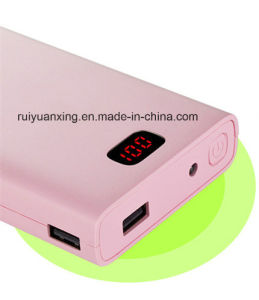 10000mAh Big Capacity with LED Light Power Bank (PB1517) pictures & photos