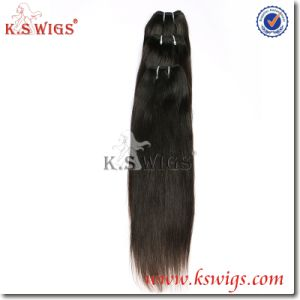 Raw Human Virgin Remy Hair Weft pictures & photos