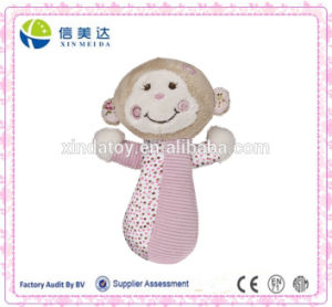 Cheery Cheeks Rattle Tails Monkey Plush Toy pictures & photos