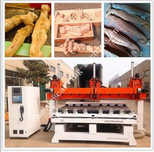 Multi Spindle CNC Router / 5 Axis CNC Wood Carving Machine pictures & photos