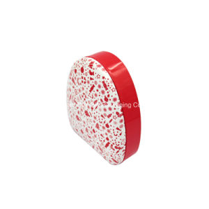 Cosmetic Red Tin Can with Circle Triangle Shape (T003-V5) pictures & photos