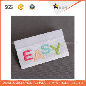 Printing Sticker Clothing Custom Cloth Woven Garment Fabric Label pictures & photos