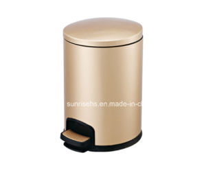 Finger Print Resistant Pedal Bin for Hotel pictures & photos