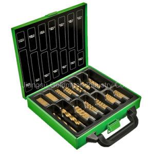 88PCS HSS Twist Drill Bit Set in Metal Case pictures & photos