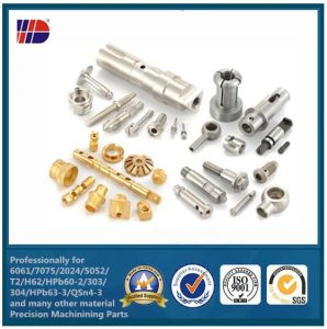 Brass CNC Milling Parts for Communication (WKC-204) pictures & photos
