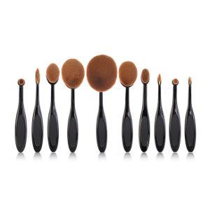 2016 Fashion Oval Toothbrush Shape Makeup Brush Set