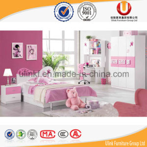 Poplular Princess Style Bedroom Furniture Kids Bed Set for Cheap Price (UL-H638) pictures & photos