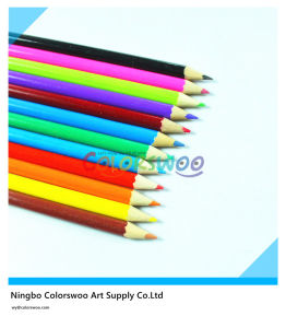 7′′hot Sales 12 Color Pencil Common Round Sharp pictures & photos