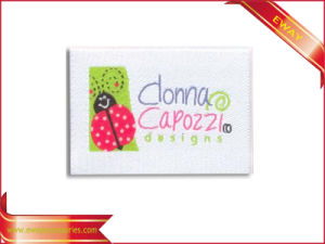 Custom Woven Label Fabric Label Garment Tag pictures & photos