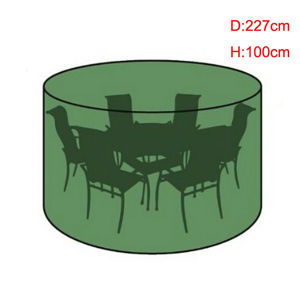 New Material 6-8 Seater Circular Patio Set Cover for Your Garden pictures & photos