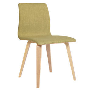 Modern Hot Sale Solid Wood Fabric Dining Computer Chairs (FS-WB1815) pictures & photos