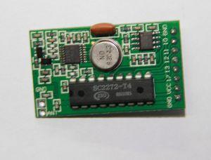 5V Superheterodyne Receiver Module with Decoding 433.92MHz or 315MHz, Cwc Transcode Superhet Receiver