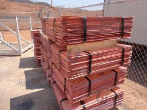 Copper Cathode 99.99% Non Lme Copper Cathode pictures & photos