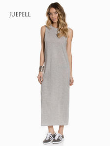 Long Knit Casual Maxi Tank Women Dress pictures & photos