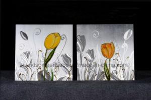 Beautiful Tuiip Aluminum Oil Painting / Art / Craft for Decor pictures & photos