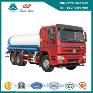 Sinotruk HOWO 6X4 Water Tank Truck 20 Cbm pictures & photos