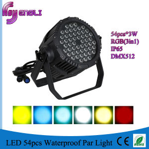 54PCS RGBW Waterproof PAR Wash Light (HL-034) pictures & photos