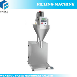 Semi-Auto Lifting Bags Filling Machine for Seasoning/Washing Powder (FB-1000SP) pictures & photos
