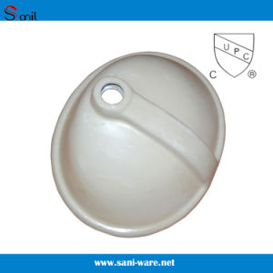 Best Selling Cupc Bathroom Undermount Ceramic Vessel Sink (SN005) pictures & photos
