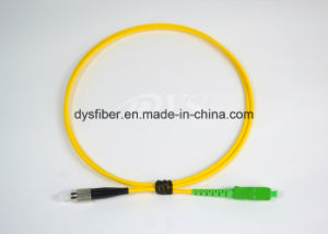 Sm Simplex Sc/APC-FC/Upc Fiber Optic Patch Cord pictures & photos