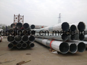 Electricity Power Galvanization Pole pictures & photos