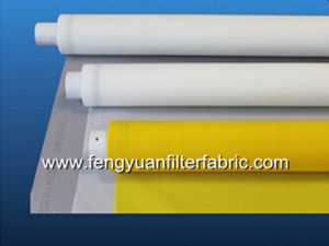 Yellow, White Polyester Screen Printing Mesh pictures & photos