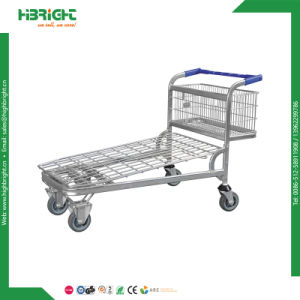 Heavy Duty Nestable Cash and Carry Folding Warehouse Trolley Cart pictures & photos