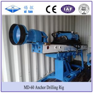 Xitan MD60 Slop Anchor Drilling Rig Foundation Pile DTH Hammer Drill Portable Drilling Machine pictures & photos