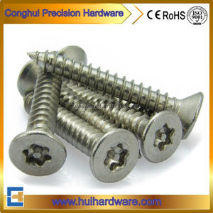 Stainless Steel Flat Head Security Self Tapping Screws pictures & photos