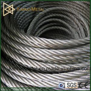 Galvanized and Stainless Steel Cable pictures & photos