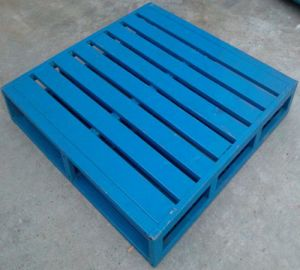 4- Way Single Faced Heavy Duty Industrial Warehouse Steel Pallet pictures & photos