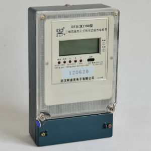Three Phase Static Anti Tamper Active and Reactive Kwh Energy Meter pictures & photos