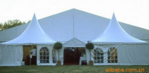 Hot Sale ABS Wall Tent with 10 X 10 Pagoda Tent pictures & photos
