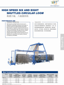 High Speed Six Shuttle Circular Loom pictures & photos