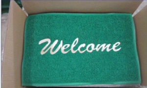Anti-Slip PVC Coil Floor Mat with Foam Backing pictures & photos