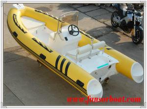 Funsor Fiberglass Rib Boat (4.8meter) pictures & photos