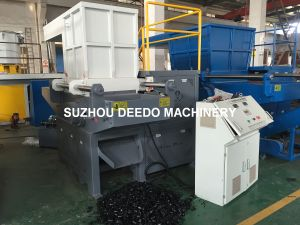 Single Shaft Shredder Machine for ABS Blocks pictures & photos