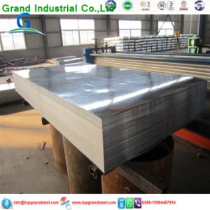Trapezoidal PPGI/Gi Aluzinc Corrugated Galvanized   Metal  Wall  Panels 3 pictures & photos