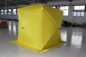 Winter Canvas Ice Fishing Tent pictures & photos