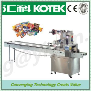 Automatic Cotton Candy Biscuits Food Package Machinery pictures & photos