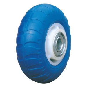 100X50 125X50 150X50 Flat Free PU Foam Wheel pictures & photos