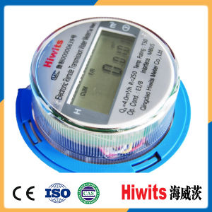Factory Price Single Jet Dry Dial Digital Electronic Water Meter pictures & photos