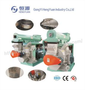 Ring Die Wood Sawdust Pellet Machine Making Line pictures & photos