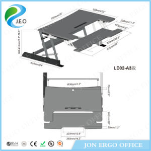 Height Adjustable Standing Desk (JN-LD02-A3) pictures & photos